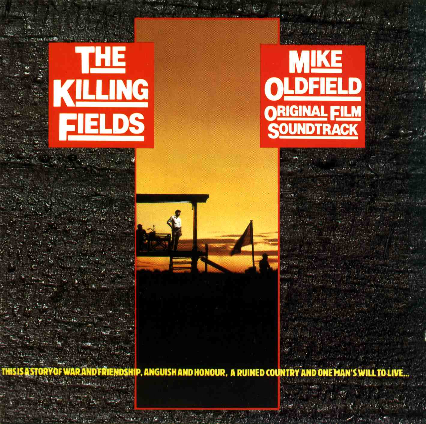 mike oldfield shadow on the wall